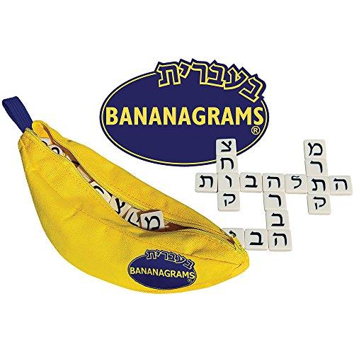 Bananagrams Hebrew  MultiAwardWinning Word and Language Game