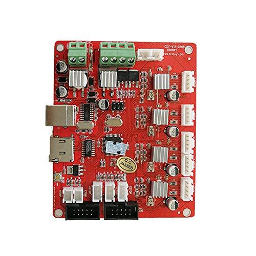 SHENLIJUAN Placa Base de la Placa de Control del Panel de Control de la Placa Base 12864 LCD de Mendel Control for la versión de actualización Ramps1.4