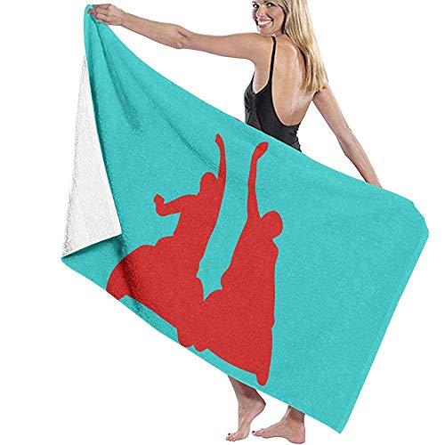 Zwembad handdoek Rolstoel Basketbal Man Microfiber Beach Handdoeken Sneldrogende Super Absorbens Handdoek voor Yoga 80X130cm