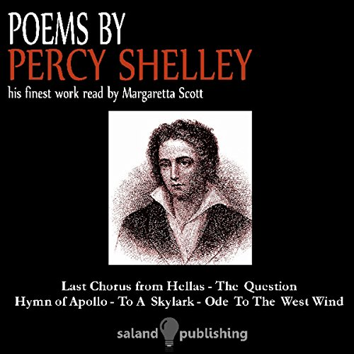 Poems by Percy Shelley audiobook cover art