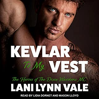 Kevlar to My Vest audiobook cover art