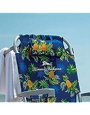 TECNOVOZ Silla Playa PLEGABLE Asas Tipo Mochila Tommy Bahamas 2000998 Amarillo /Yellow/Piñas