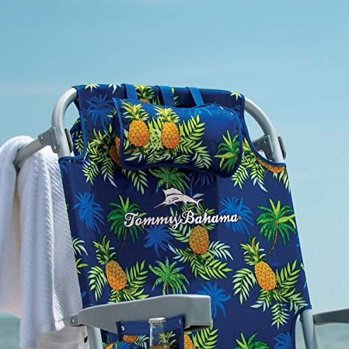Tommy Bahama Beach Mochila Silla – Bolsa térmica – 5 posiciones – Piña Edición 2021 – Nuev