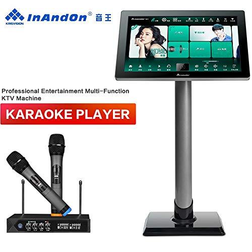 Great Price! Karaoke Machine with Lyrics Display, InAndOn X5 New Gen One-piece Type Professional Ent...