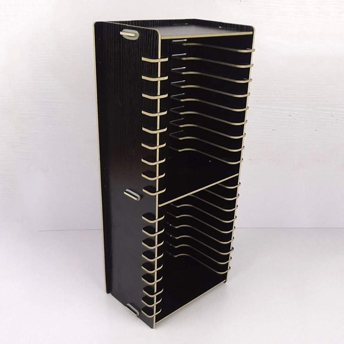 CD DVD Racks CD Rack Disc Holder 20 Grids CD Holder Multi-Box Disc Storage Box (Color : A)