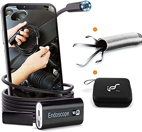 Endoscope WiFi Wireless Endoscope Camera for Android 2 0MP Borescope Inspection Camera with product image