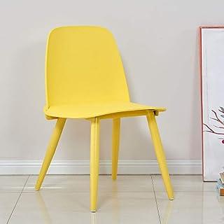QFWM Sillas de Comedor Sillas de café y sillas de Comedor for Casual Home Living y comedores Cocina Comedor Muebles (Color : Ten, Size : 51x44x80cm)