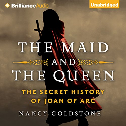 The Maid and the Queen audiobook cover art