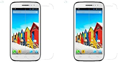Cell Planet's (Pack of 2) 9H Hardness Crystal Clear Clarity Edge to Edge Fitting Tempered Glass for Micromax Canvas HD A11...