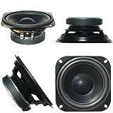 1 WOOFER MASTER AUDIO CW400/4 Haut-Parleur de 10,00 cm 100 mm 4' de 30 Watts rms et 60 Watts Max impédance 4 ohms 89 DB Portes de Voiture, 1 pièce