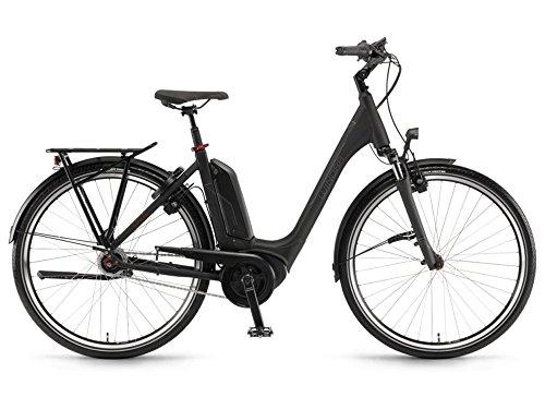 Winora Tria N8F 500 Pedelec E-Bike Trekking Fahrrad schwarz 2019: Größe: 46cm