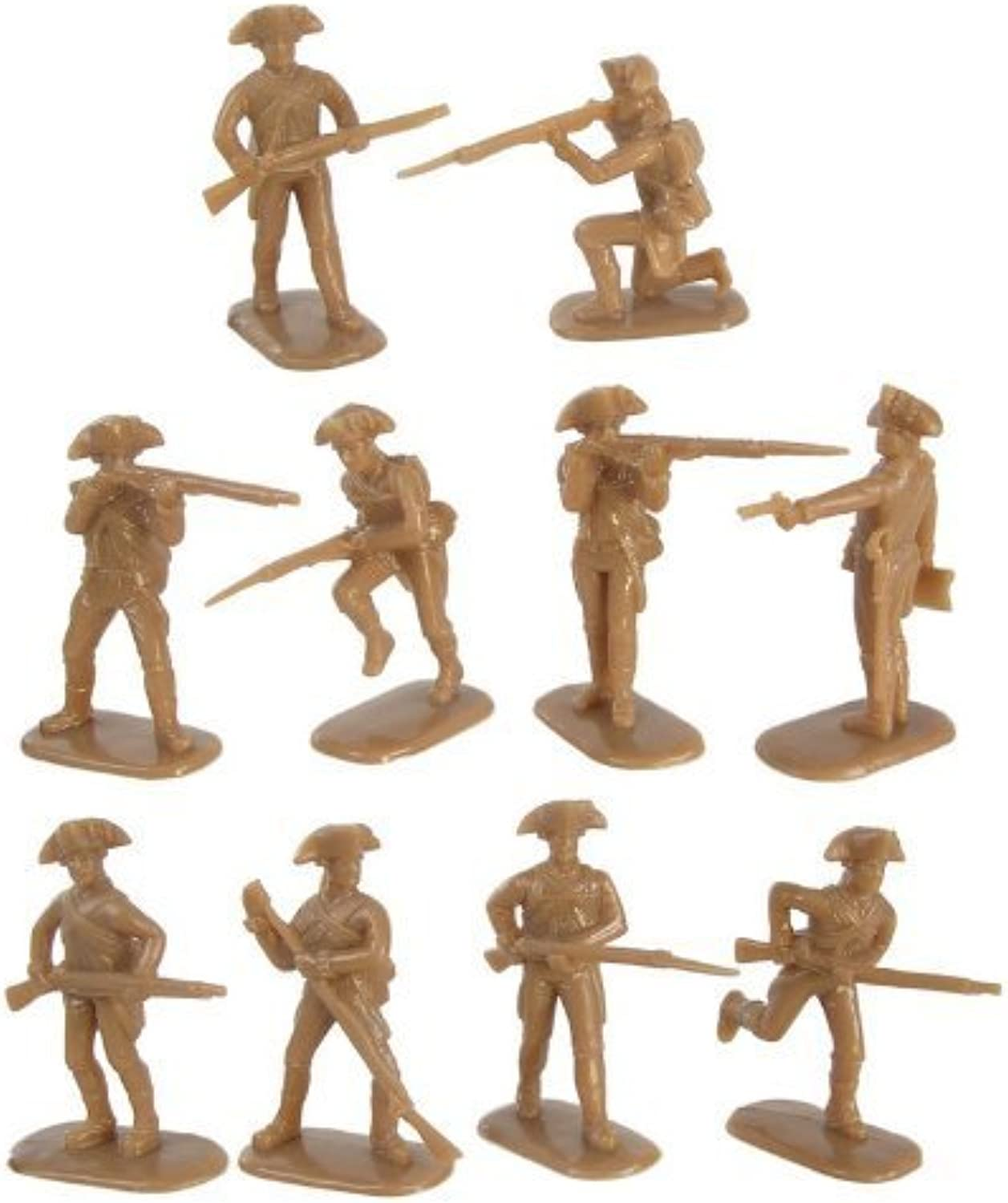 American Revolution American Militia Infantry (20) 1 32 Armies in Plastic by Armies in Plastic