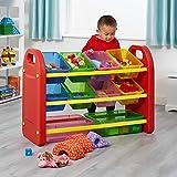 Liberty House Toys-558 Organizador de Almacenamiento de 10 Cajas, Multicolor (558)