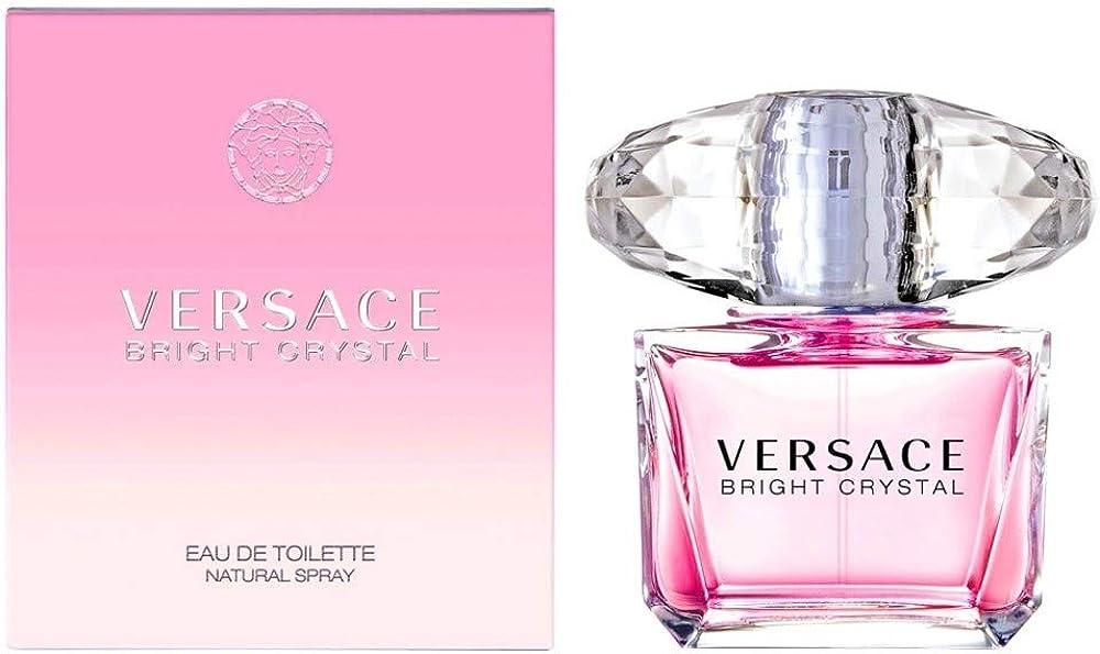 Gianni versace, bright crystal, eau de toilette per donna, 90ml VE510032
