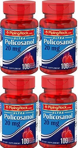 4 Policosanol Ultra, 20 mg, 100 Cápsulas