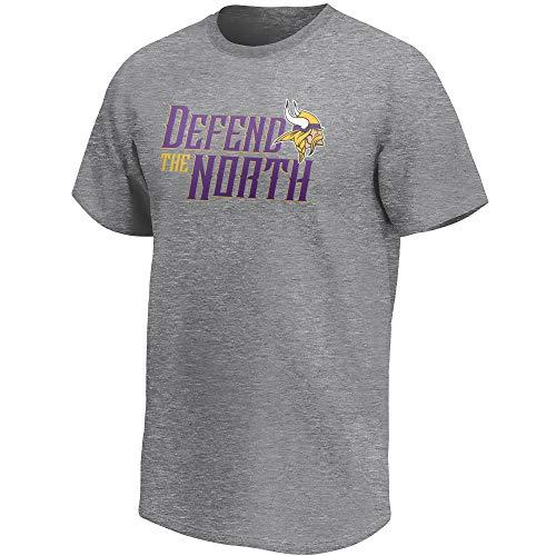 Fanatics NFL Football T-Shirt Minnesota Vikings Hometown Fanshirt Defend The North (3XL)