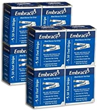 Embrace Test Strips Bundle Deal Savings 400 Ct (8 Boxes of 50ct = 400ct Total)