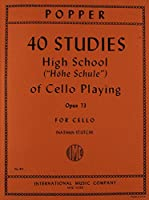 40 Studies: High School of Cello Playing, Op. 73 by David Popper