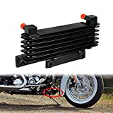 HDBUBALUS Motorcycle Oil Cooler Radiator Fits for Harley Touring 2009-2016 Road King Road Electra Street Glide FLHR FLHTC