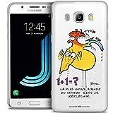 Caseink - Coque Housse Etui pour Samsung Galaxy J7 2016 (J710) [Licence Officielle Collector Les...