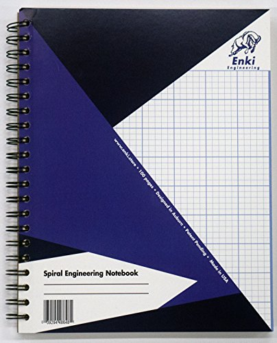 Engineering Paper 200 sheet - Spiral Notebook (Blue Cover)