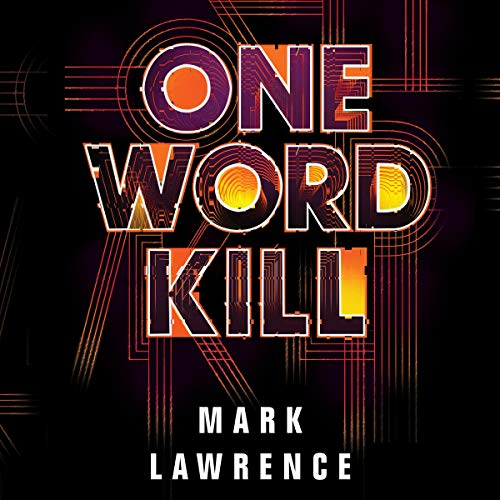 One Word Kill audiobook cover art