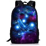 Rucksäcke,Cooler 3D Galaxy Scorpion Print Rucksack Anzug Für/Studenten/Teenager/Mädchen/Jungen Und Kinder