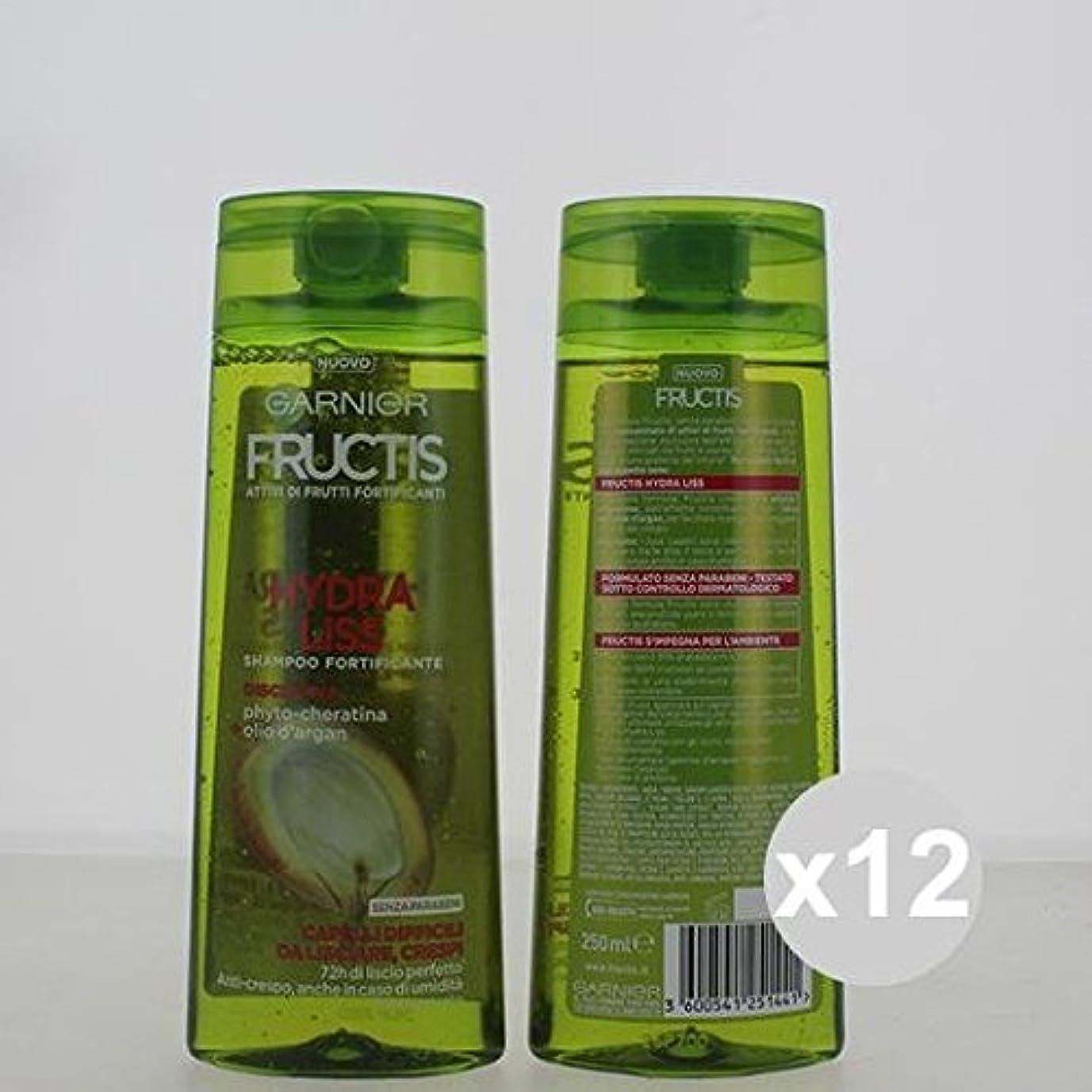 環境に優しい光沢押す12 Fructisシャンプー250ヒドラリスシャンプーとコンディショナーヘア製品のセット