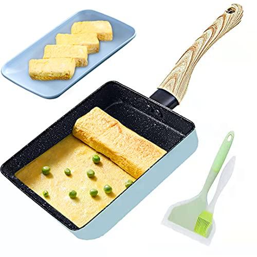 Japanese Omelette Pan Non-stick Coating Tamagoyaki...