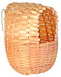 TRIXIE Nido Bambú, 12 x 15 cm, Pájaros