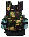 Maddog Sports Tactical Paintball Vest - Black