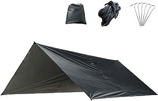 Azarxis Waterproof Hammock Camping Tarp, 10x10 ft Rain Fly Tent Footprint Shelter Canopy Sunshade Cloth Awning for Camping...