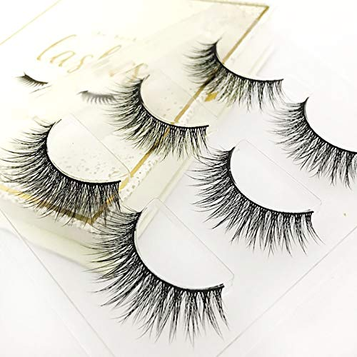 (Special Edition) The Book of Lashes: Volume 3 - Majestic - (3D Real Siberian Mink) - (Reusable False Eyelashes) - (Cruelty Free and Vegan) - (3 Pairs)