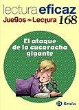 El ataque de la cucaracha gigante Juego de Lectura: 168 (Castellano - Material Complementario - Juegos De Lectura) - 9788421675717 (Juegos Lectura Eficaz)