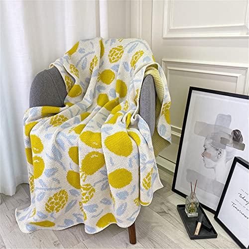 TENGTUD Mantas de Punto, Mantas para niños y Adultos para Cubrir Mantas / Mantas de Aire Acondicionado / Mantas de sofá / Mantas de cama-130x170cm