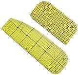 FDCAI - Regla de planchado a alta temperatura, juego de regla de costura, regla de patchwork, accesorios portátiles, regla especial de hierro para planchar al vapor