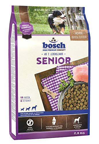 bosch HPC Senior | Hundetrockenfutter für ältere Hunde aller Rassen | 1 x 2.5 kg