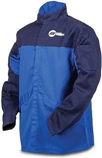 Welding Jacket, Royal/NVY, Ctn INDURA, XL