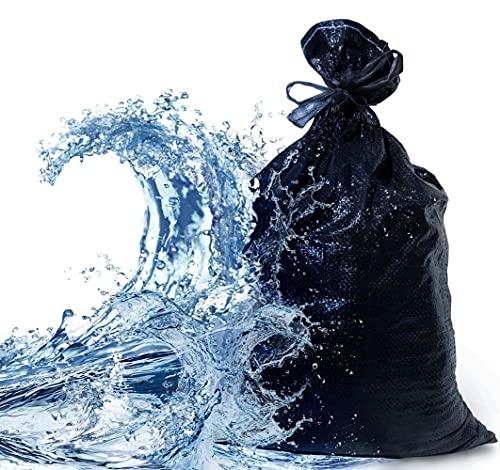 25 XL Premium Sandsäcke | Extra Robust Und Reißfest | Extra UV Beständig / Stabilisiert Und Lange Haltbar | Maße 60 x 40 cm | Sandsack Für Hochwasser Zum Befüllen | Mit...