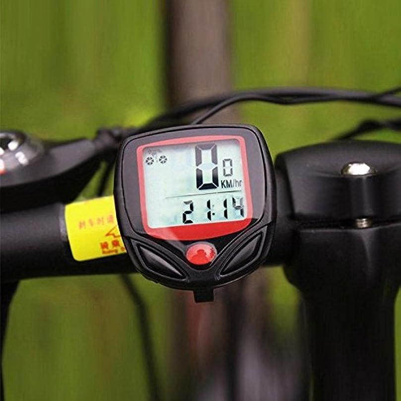 固執旋律的王族CoolLa 自転車速度計 バイク 走行距離計 ストップウォッチ 多機能 サイクルコンピューター 走行時間計 スピードメーター 自転車ストップウォッチ マウンテンバイク ロードバイク MTB