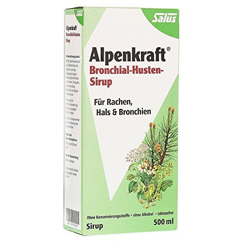 ALPENKRAFT Bronchial-Husten-Sirup Salus 500 Milliliter