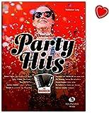 Deutsche Hits de fiesta para acordeón–Tejidos ligeros bearbeitungen–Ordenador libro con Bunter herzförmiger–Partituras vhr18659783864341038