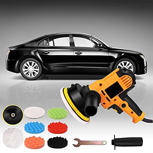 TTLIFE Pulidora De Automóviles, 600-3700 r/Min 125mm Pulidora De Coche Eléctrico De...