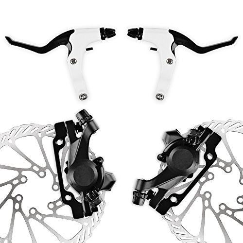 AFTERPARTZ NV-6 G3 Bike Disc Brake Kit Front and Rear 160mm Caliper Rotor