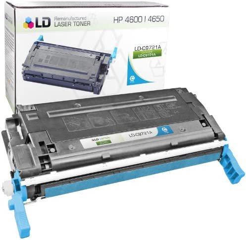 LD Remanufactured Toner Cartridge Replacement for HP 641A C9721A Cyan product image