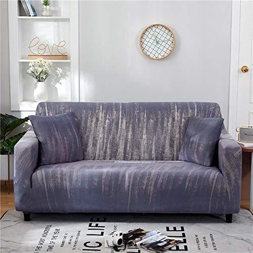 WXQY Funda de sofá Floral de poliéster, Funda de sofá retráctil para Sala de Estar, Funda de sofá elástica para Silla, Funda de sofá, Toalla, Funda de sofá A9, 3 plazas