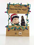 Hallmark Peanuts 2003 Ornament Lucy Mood Booth - Holiday Advice Booth