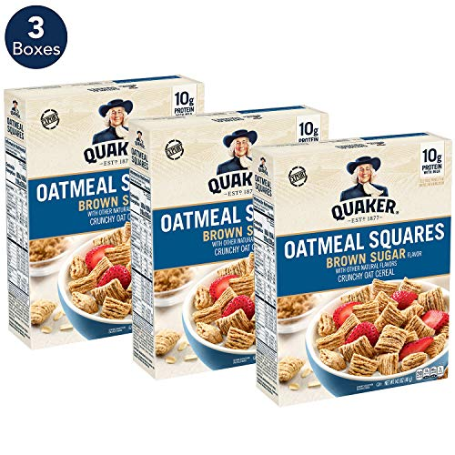 Quaker Oat Squares With Brown Sugar