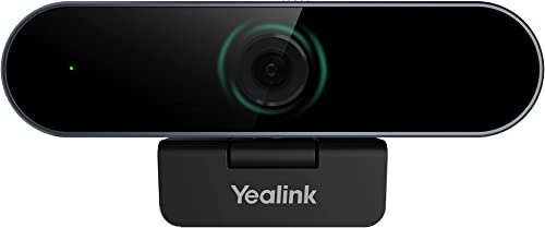 wholesale Yealink UVC20 Webcam Web Camera Teams&Zoom Certified with Microphone 1080P online HD for PC Computer Plug and Play Streaming Web Camera for Teams discount Conference Meeting Skype BusinessGaming Recording online