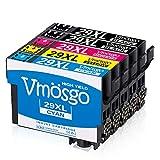 Vmosgo 29XL Remplacer pour Epson 29 29XL Cartouches d'encre, pour Epson Expression Home XP-235 XP-345 XP-255 XP-247 XP-435 XP-245 XP-445 XP-442 XP-335 XP-342 XP-332 XP-432 XP-330 XP-430 XP-257